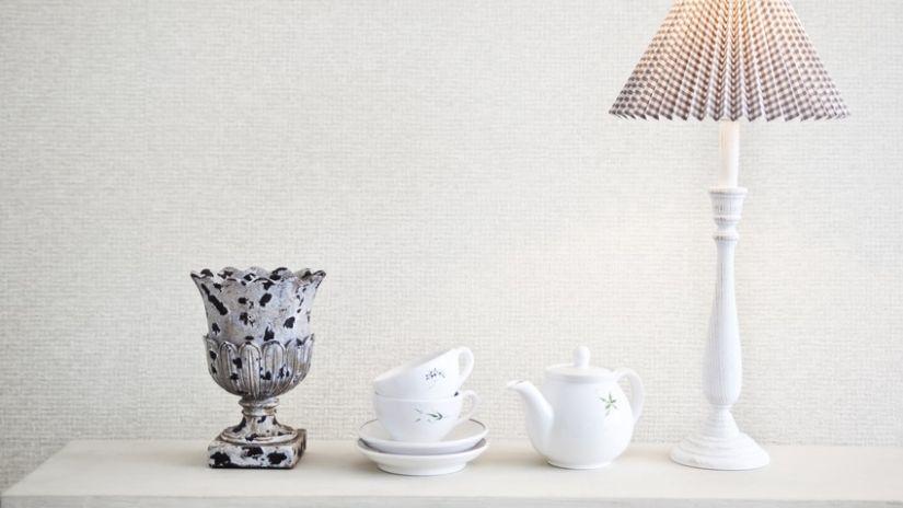 Jemné luxusné tienidlo na lampu