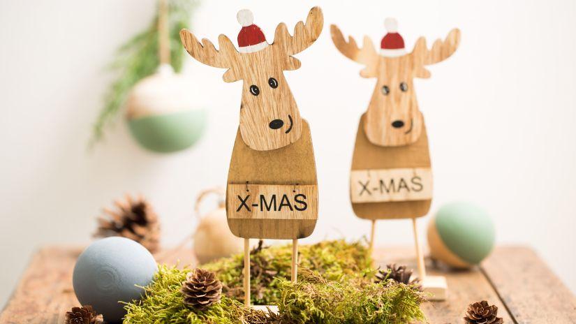Dizajnové vianočné dekorácie z dreva