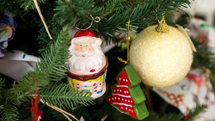 Dekorácie na vianočný stromček