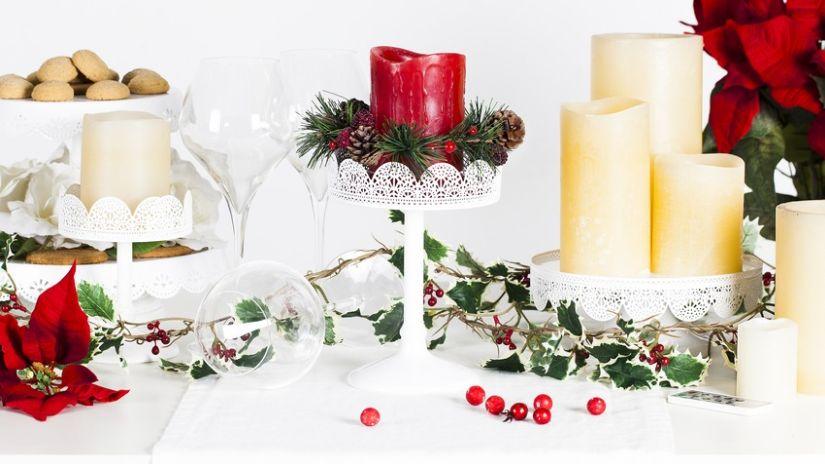 Vianočné dekoračné sviečky