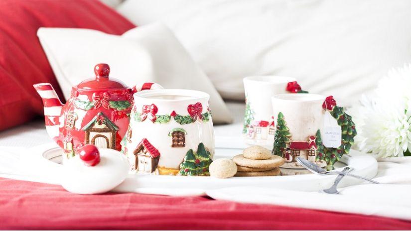 Trendy vianočné dekorácie z porcelánu