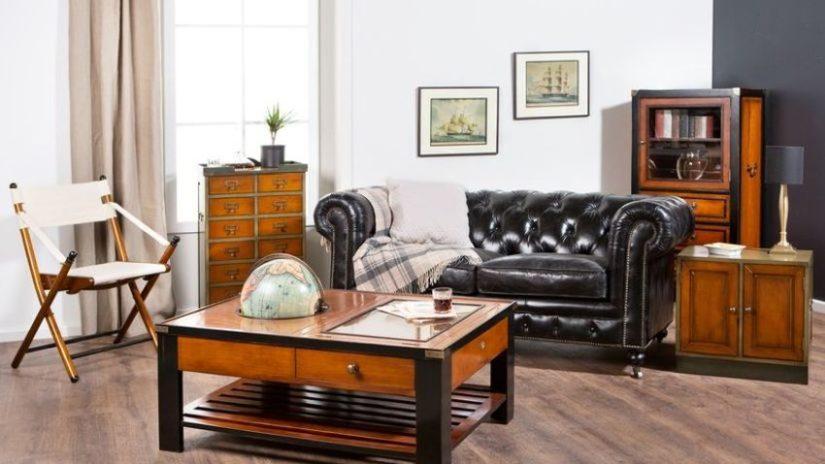 Dekorácie do obývačky v koloniálnom štýle