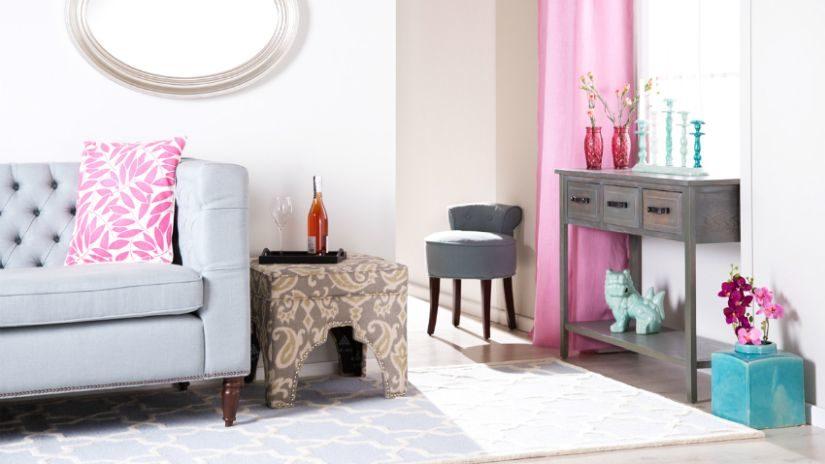 Dievčenské dekorácie do obývačky