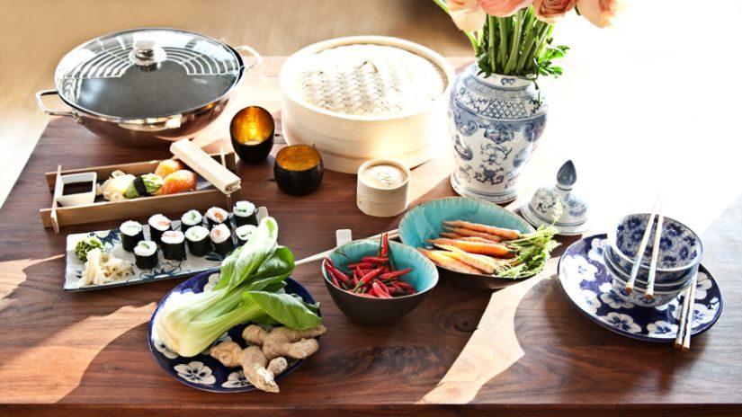Kvalitná wok panvica s pokrievkou
