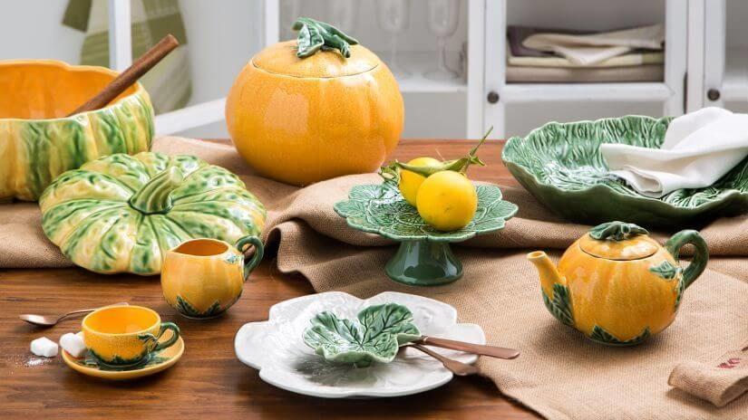 Jesenná dekorácia do jedálne
