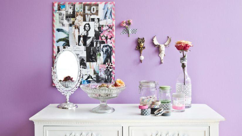 Dievčenské strieborné zrkadlo