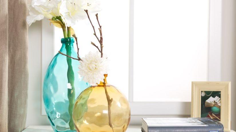 Elegantné tyrkysové dekorácie
