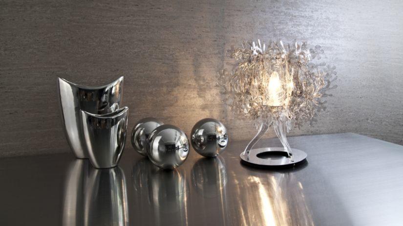 Dizajnové strieborné vázy