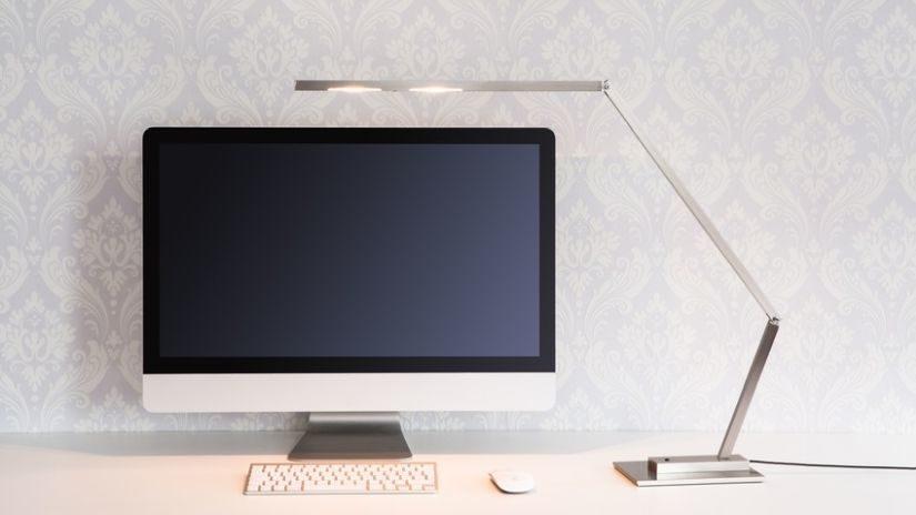 Moderná stolná lampa