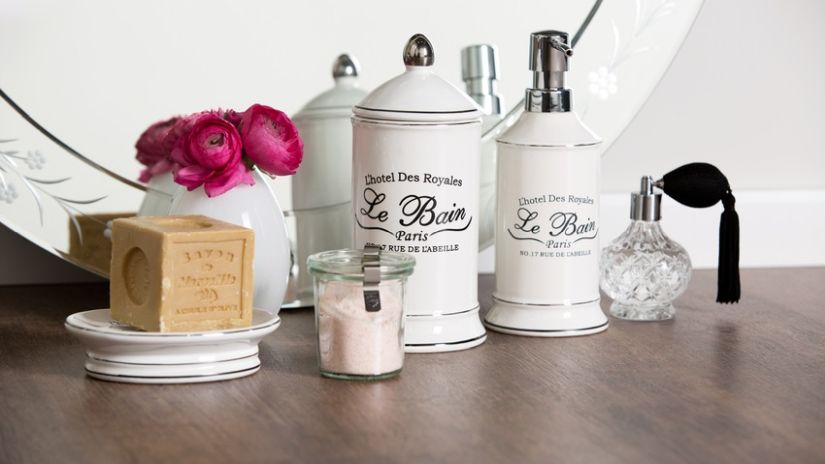 Dávkovače na mydlo vo vintage štýle