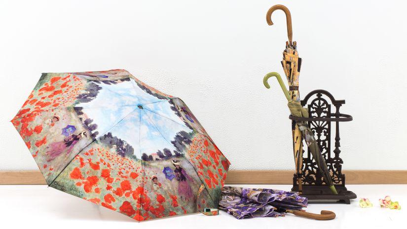 Štýlový stojan na dáždniky z kutého železa