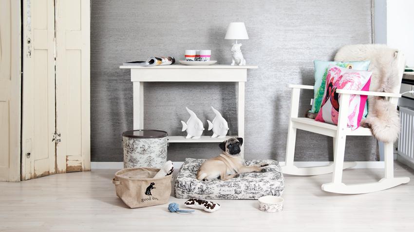 Pohodlný vankúš pre psa