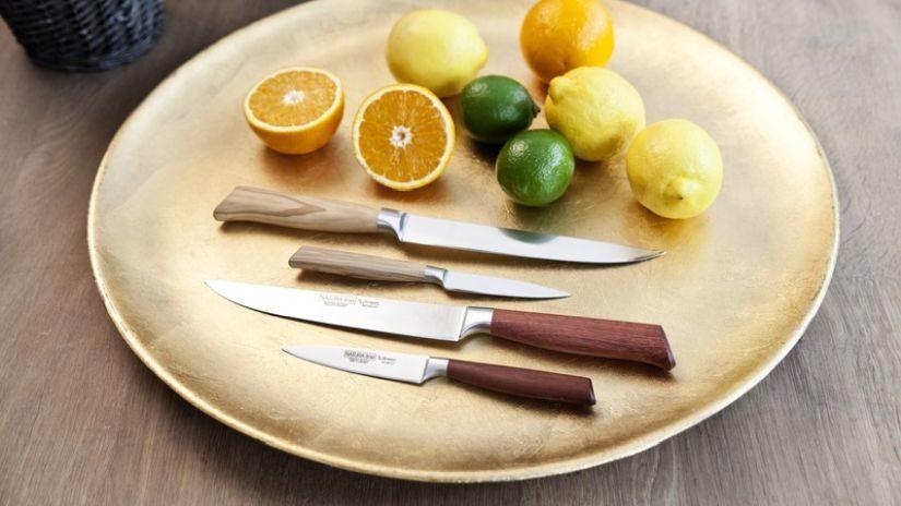 Klasické nože s drevenou rúčkou