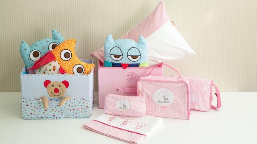 Farebné krabičky pre deti