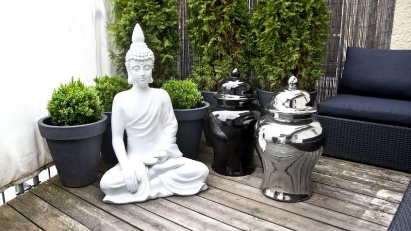 Veľká Buddha soška do exteriéru
