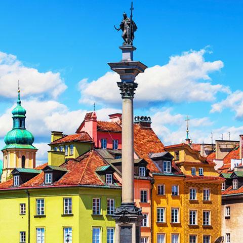 Willkommen in Warschau!