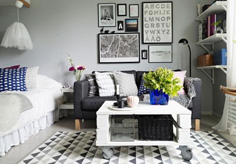 Kleine Wohnung einrichten: 55 Tipps für kleine Räume