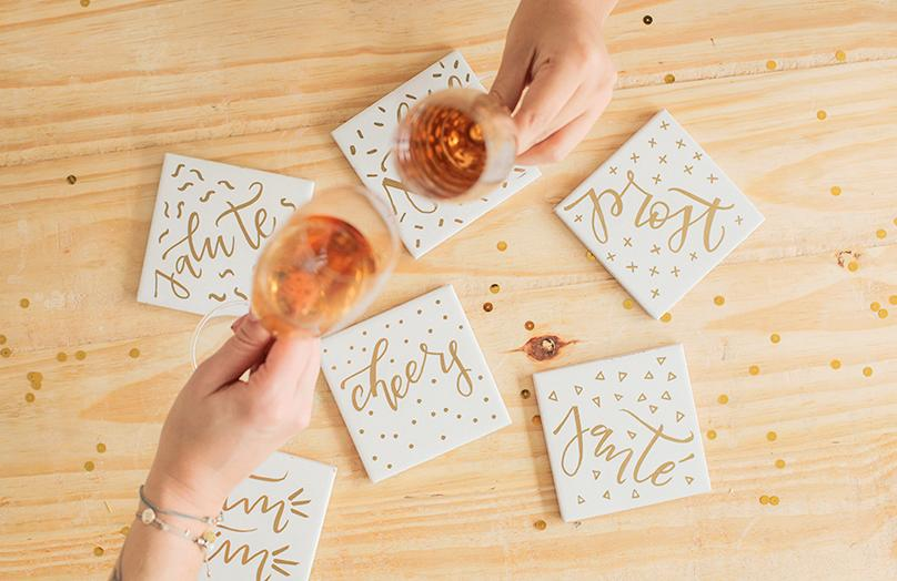 Happy New Year – Silvester DIYs zum Anstossen!