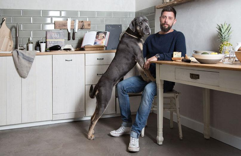Zu Hause bei Marcel Graf