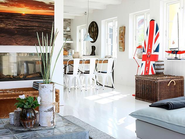 Casa en la playa: el look de los Hamptons