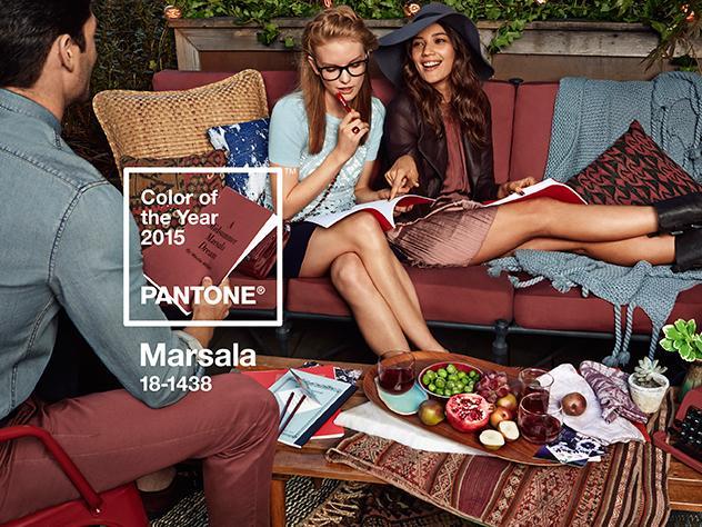 Se llama Marsala... ¡Y es el color del año!