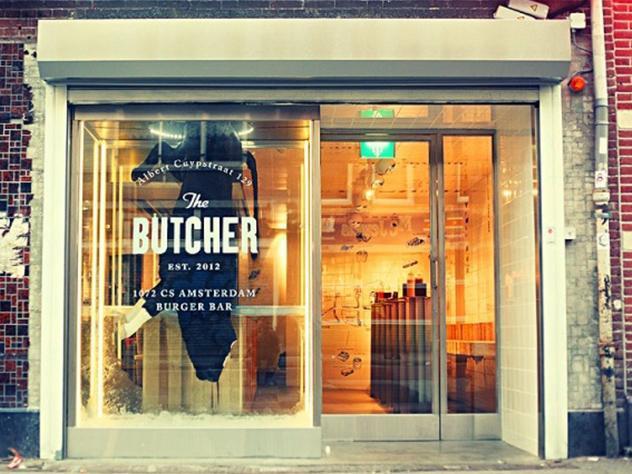 La hamburguesería The Butcher se encuentra en la famosa calle Albert Cuypstraat de Ámsterdam.