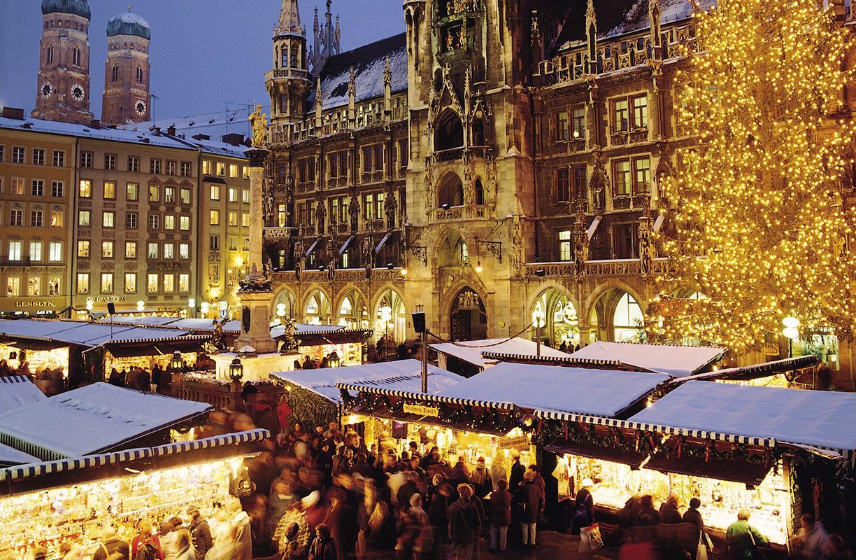 El mercado de Navidad de Múnich