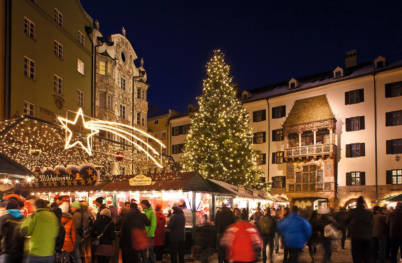 El mercado de Navidad de Innsbruck