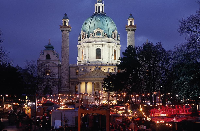 El mercado de Navidad de Viena