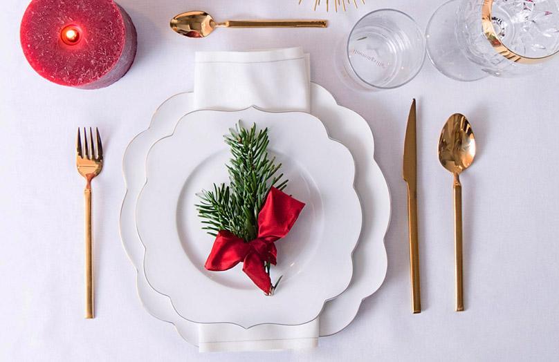 5 propuestas para decorar la mesa en Navidad