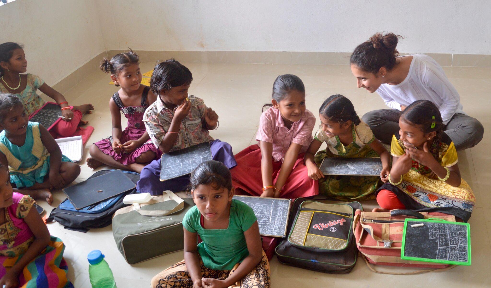 Anantapur es una de las zonas más pobres de la India y allí el centro de la Fundación  Rafa Nadal asiste a más de 210 niños.