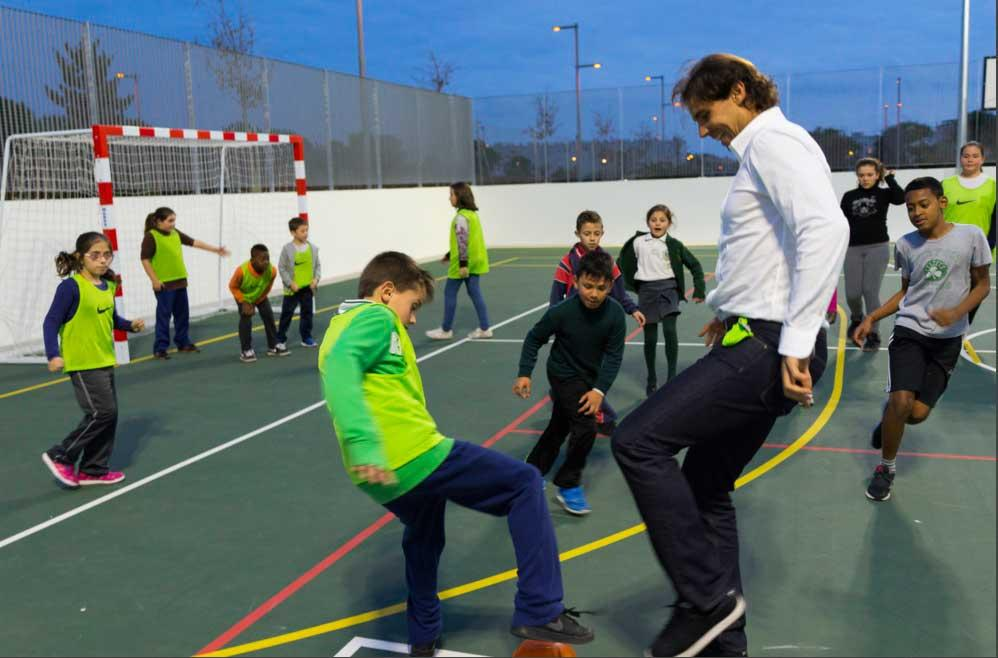 El proyecto abarca el ámbito socieducativo, deportivo y psicoterapéutico.