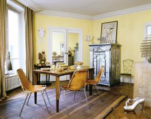 salotto giallo