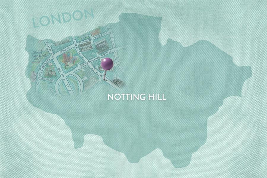 Dalani, Notting-Hill, Giardino, Colori