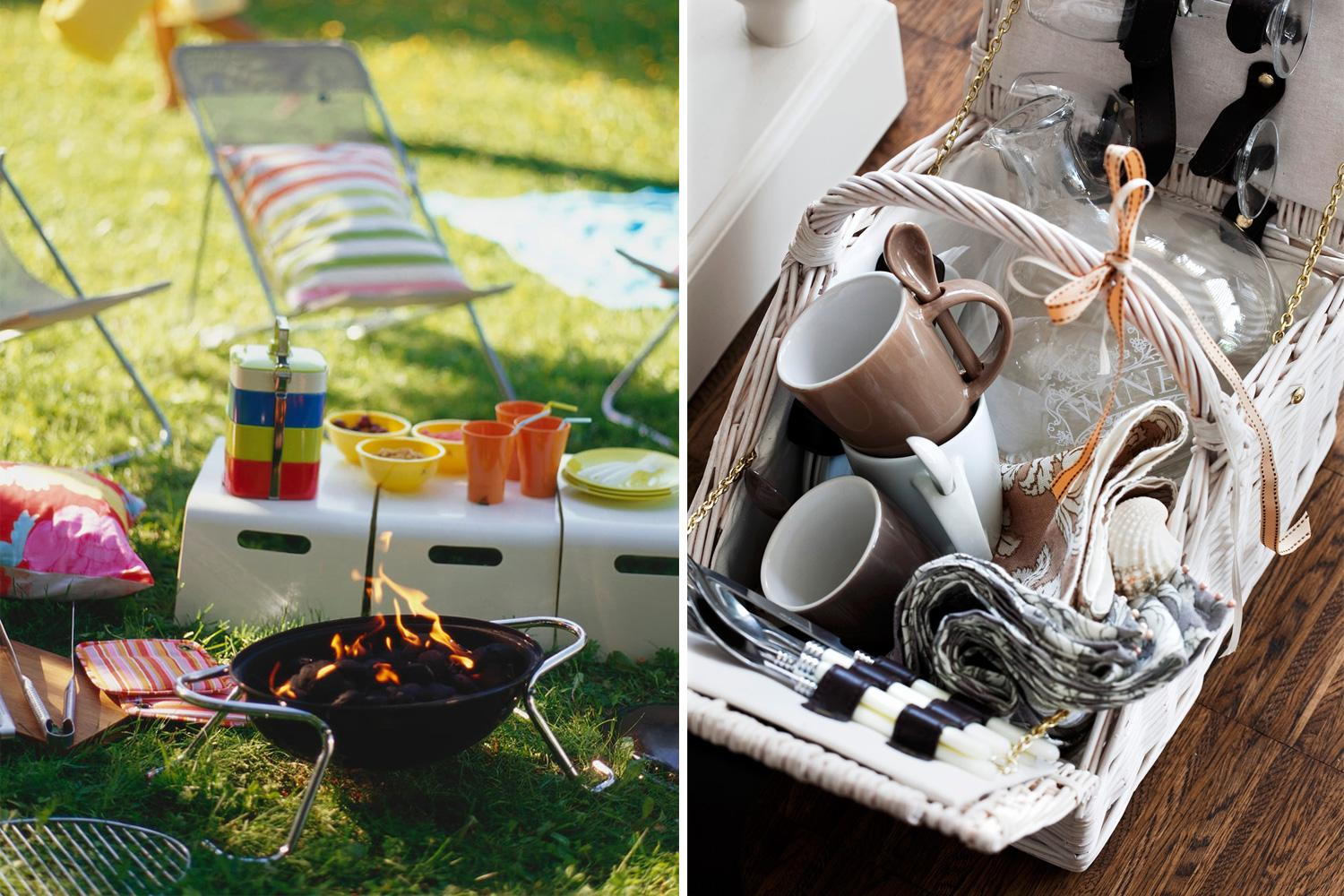 Barbecue, Picnic, Outdoor