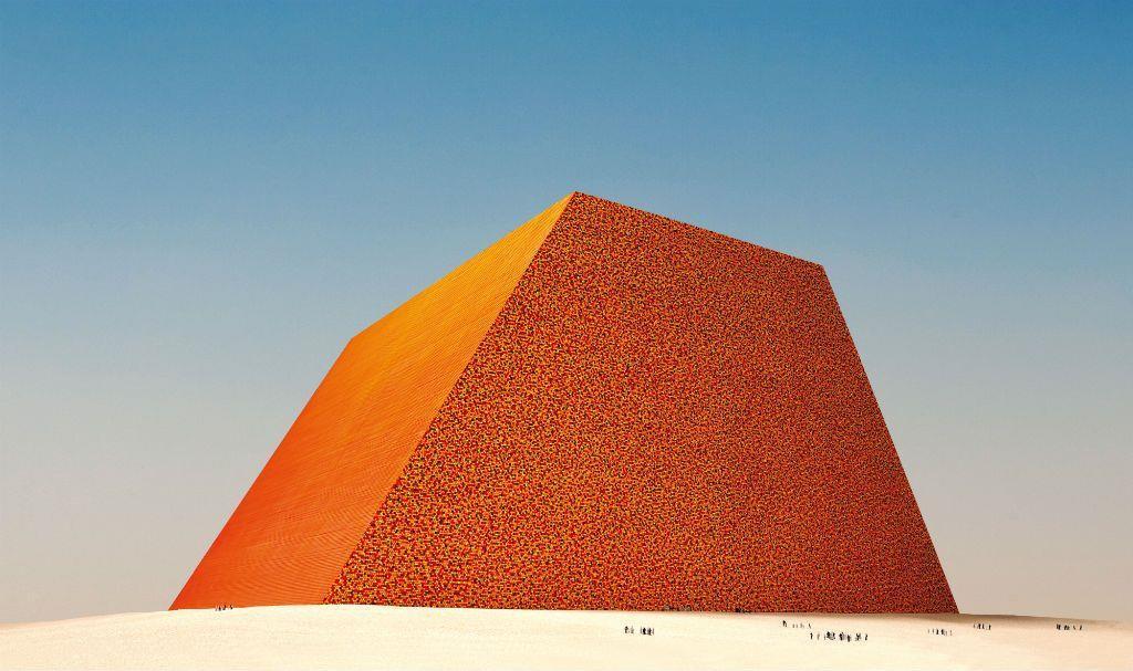 Mastaba (Progetto), Emirati Arabi Uniti - Wolfgang Volz © 1979 Christo