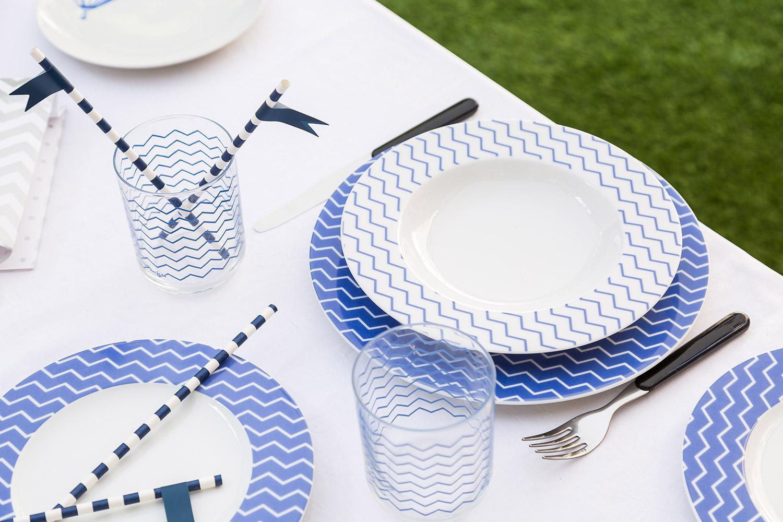 Bianco e blu, Party bianco e blu, Colori, Decorazioni, Estate, Mise en place, Party
