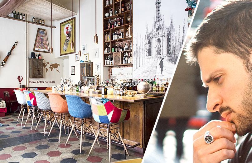 Iter: viaggio hipster nel primo fusion cocktail bar di Milano
