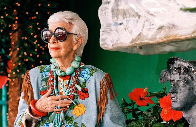 95-jarige IT-girl: Iris Apfel