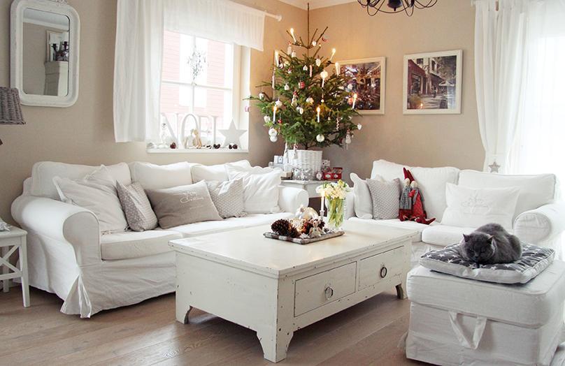 Verliebt in Weiß: Deko-Tipps zur weißen Weihnacht!