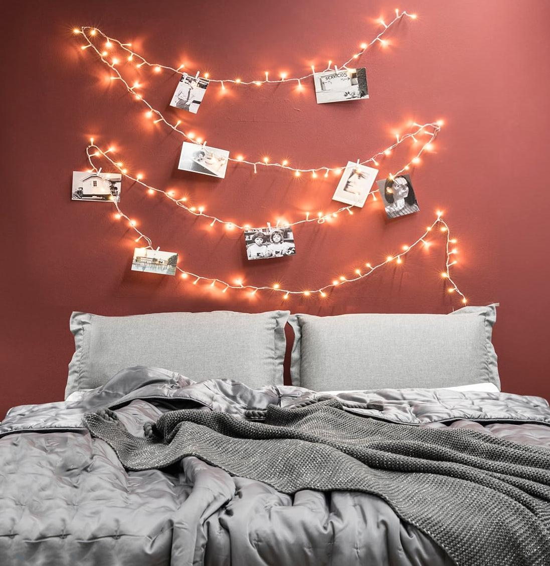 lumières-de-Noël-mur