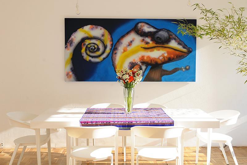 Nikolas - Chestnut, Living, Dettaglio, Arte