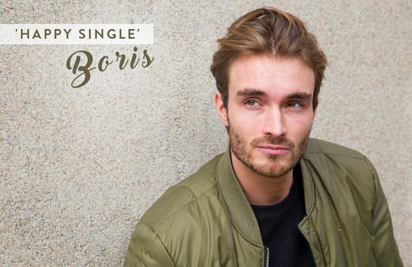 De Valentijnsdag van 'happy single' Boris Lange
