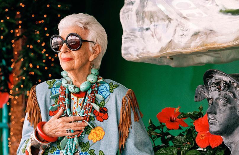 95-jarige IT-girl: Iris Apfel