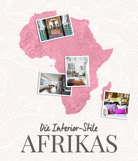Afrika und seine Interior-Stile