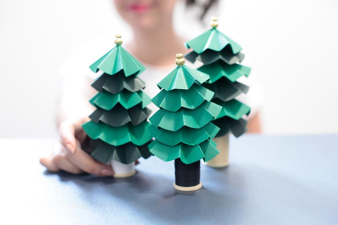 Accesorios naturales para la mesa de Navidad