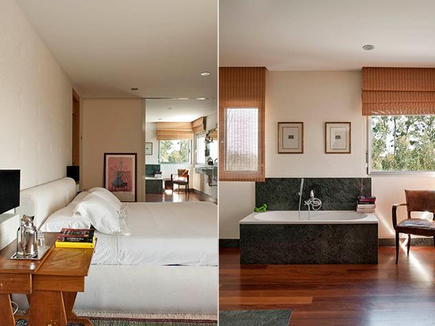 camera e bagno modernismo