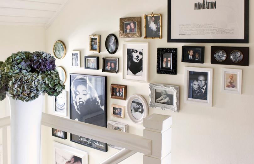 Una galleria d'arte in casa