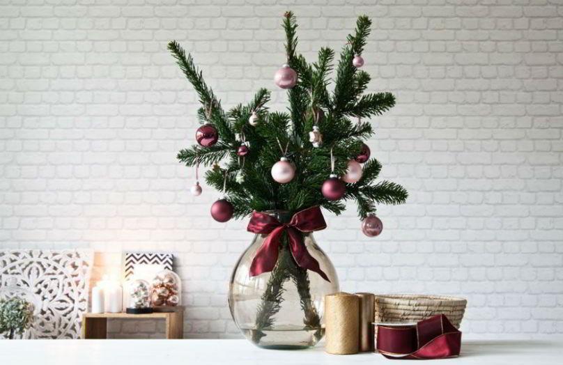 Alberi di Natale alternativi per piccoli ambienti