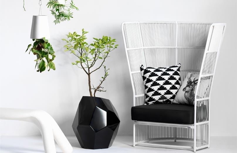 W świecie designu: czarno-białe aranżacje na 5 sposobów